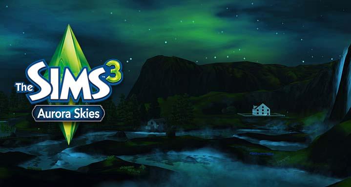 Výsledek obrázku pro aurora skies the sims 3
