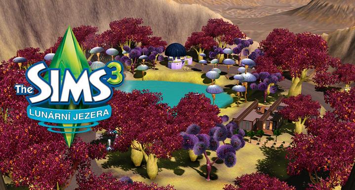 Výsledek obrázku pro lunární jezera the sims 3