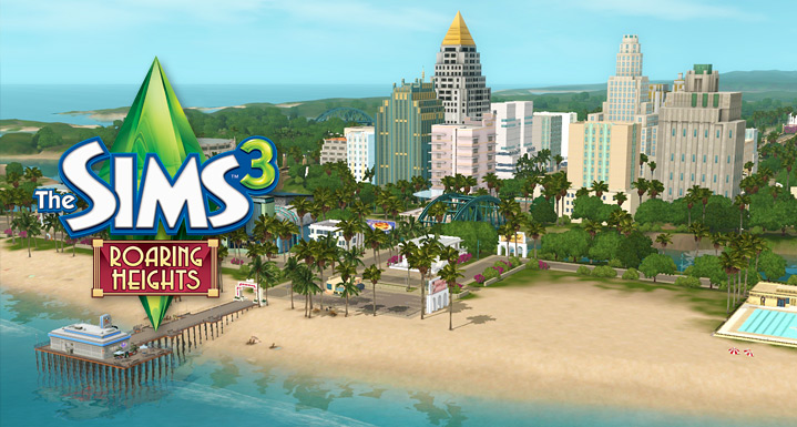 Výsledek obrázku pro Roaring Heights the sims 3